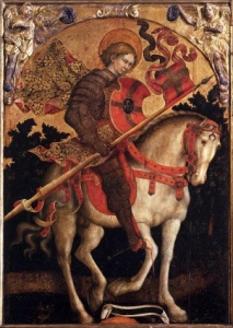 Giambono_Michele-St_Chrysogonus_on_Horseback.normal