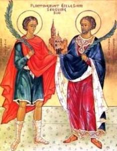 St Vitalis and St Agricola